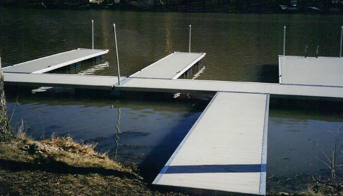 Aluminum Boat Lifts : Aluminum modular floating boat docks dock systems in md